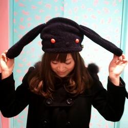 うーさー帽子写真