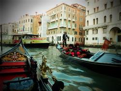 ヴェネツィア舟より