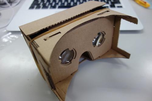 VR3Dメガネ完成後