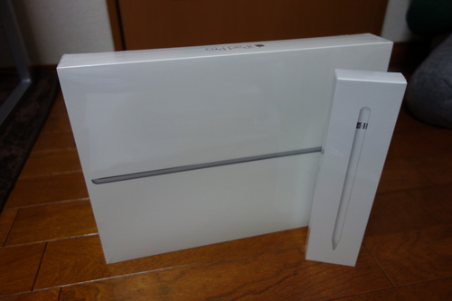 iPad Pro の箱