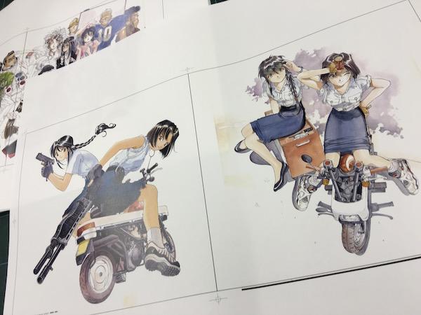 藤島康介 イラスト